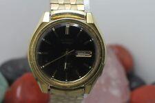 Vintage Original Seiko DX Automatic Gold Tone 17j 523030 Wrist Watch Running