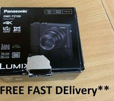 Panasonic Lumix 20.1MP DMC-TZ100 Digital Camera - Black FAST DELIVERY