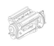 scale model rolls royce merlin engine