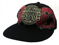 Killswitch Engage Dragon Crest Black Fitted Baseball Cap Hat New Official