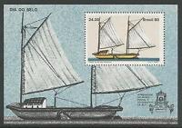 Brésil. 1980. Journée Du Timbre Miniature Feuille SG: MS1858.