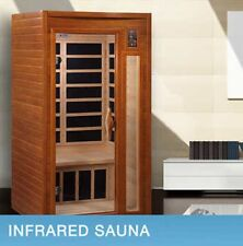 Dynamic Barcelona 2-person FAR Infrared Sauna DYN-6106-01, NEW SHIP FROM FACTORY