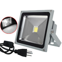 30W Watts LED Flood Light Outdoor Security Lamp Waterproof Cool White 85-265V