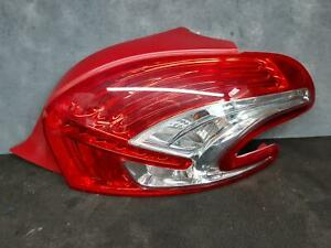 PEUGEOT 208 RIGHT TAILLIGHT A9, 10/2012-10/2015