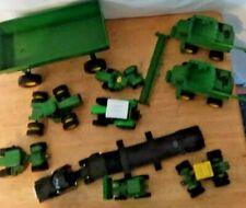 Ertl John Deere Die Cast Farm Machinery and Tractor Trailer Lot Of 11 C4