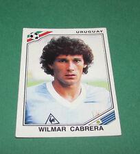 N°325 WILMAR CABRERA URUGUAY PANINI FOOTBALL COUPE MONDE 1986 MEXICO WM 8