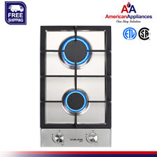 Refurbished Gasland Chef Gh30Sf Built-in Gas Stove Top 12' With 2 Sealed Burner
