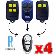 4 x Dominator DOM501 DOM502 DOM505 YBS2 YBS4 Gate/Garage Door Remote (NEW)