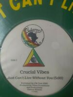 "Crucial Vibes-Just Can't Live Without You 12"" Vinyl Single 1986 New Sealed"