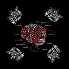 Death Spiritual Healing Album Art Death Metal Music Band Bandana Head Kerchief
