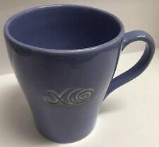 STARBUCKS Coffee XO EMBOSSED Mug LILAC LAVENDER 15oz 2006 Micro Dishwasher Safe