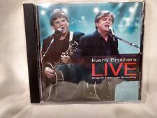 Everly Brothers Live Original Artist Live Recording 2008 TGG Direct       cd5281