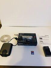 Panasonic LUMIX DMC-ZR1 12.1MP Digital Camera, Case, Manuel & 8GB Card IOB