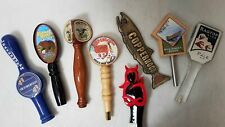 "New listing 8x Beer Tap Handles, 12"" Pub Bar Supergoose, Red Hook, Liberty Ale"