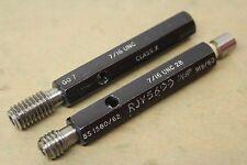 "Headland 7/16"" x 14 Tpi UNC 2B GO NOGO & Core Thread Plug Gauges ME1063"