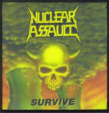 NUCLEAR ASSAULT-SURVIVE-SUBLIMATION PATCH-THRASH-CROSSOVER-METAL