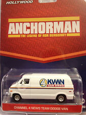 Greenlight  HOLLYWOOD Anchorman Legend Of Ron Burgundy Channel 4 News Dodge Van