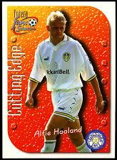 Alfie Haaland Leeds United #CE9 Futera 1999 Football Embossed Trade Card (C347)