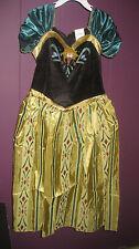 DISNEY PRINCESS FROZEN ANNA TODDLER COSTUME DRESS SIZE M7-8 , NEW
