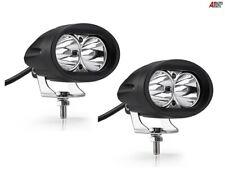 "2x 4"" 20w Bright Led Car Bike Motorcycle Work Driving Fog Lights Spot Beam Lamps"