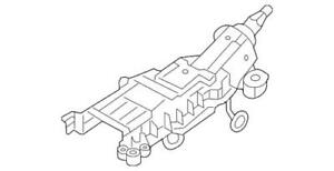 Genuine 2005-2007 Five Hundred Freestyle Montego Steering Column 6F9Z-3C529-AA