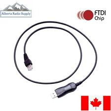 USB Programming Cable for KENWOOD Mobiles TM-271A TM-281A ** CANADA**FTDI KPG-46