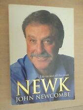 NEWK JOHN NEWCOMBE * SIGNED * LIFE ON AND OFF THE COURT AUSTRALIAN TENNIS GREAT