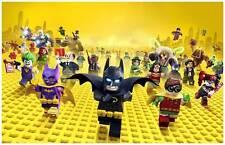 "Lego Batman 11"" X 17"" DC Comics Character Movie Poster Joker Harley Quinn Robin"