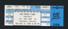 1989 The Cure Unused Full Concert Ticket Prayer Tour Rosemont IL Disintegration