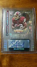 2014 Panini Contenders (#038/199)Silas Redd autograph Redskins #195 RC Rookie