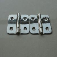 """2pcs Stainless Steel Boat Marine Door Hatch Compartment Butt Hinge 2.3"""" x 2"""""""