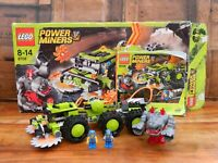 Lego Power Miners 8708 Cave Crusher Boxed with Instructions