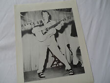 "ELVIS Original 1956__1st PROMO PHOTO__ELVIS FAN CLUB___8x10""__HARD TO FIND!!!"
