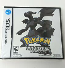 Pokemon White Version Nintendo DS 3DS Brand New Factory Sealed Authentic