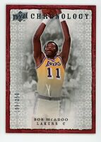 2007-08 Bob Mcadoo 199/250 Upper Deck Chronology #12
