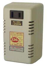 Travel converter DE-120 Voltage Step Down 220-240V to 100V 1200W From Japan