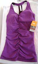 NWT Lucy Perfect Core Purple Yoga Shirt Size XS
