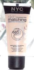 NYC Skin Matching Foundation -685 Fair- New
