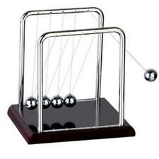 Newtons Cradle Steel Balance Balls Physics Science Pendulum Fun Desk Toy Decor