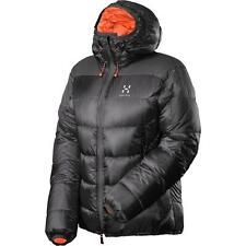 New Haglofs Magi II Down Q 800-Fill Insulated Hooded Jacket Women L MSRP $600