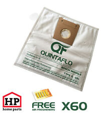 60X BOSCH Type G+GXL Quintaflo Hoover Vacuum Cleaner Dust Bags,Filter,Fresheners