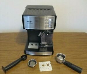 Mr. Coffee BVMC-ECMP1000-RB Café Barista Espresso and Cappuccino Maker COMPLETE
