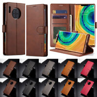 Case For Huawei Mate 30 Pro 20 Pro 10 Lite Leather Magnetic Flip Wallet Cover