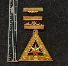 Vintage Royal Arch Mason Jewel 1961 RAC 171 Carlisle PA Gold over Sterling