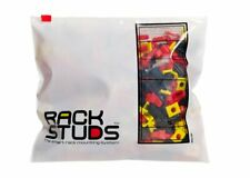 Rackstuds™ Nuts. Red 20 Pack