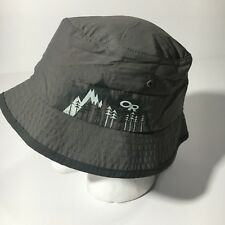 8a5934ed3e3 Kids Gray Solstice Sun Bucket Hat size Large Outdoor Research
