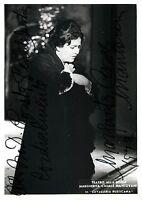 Opera - Autografo del soprano Margherita Casals Mantovani (Scala di Milano)