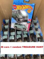 2021 Hot Wheels Dodge Van Lot Of 36 + RANDOM TREASURE HUNT