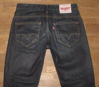 ">>> coole LEVI`S Lot Herren- JEANS / LEVIS Blue-Jeans in dkl.- blau W32"" /L32"""