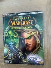 BRADYGAMES World of Warcraft Official Strategy Guide Burning Crusade